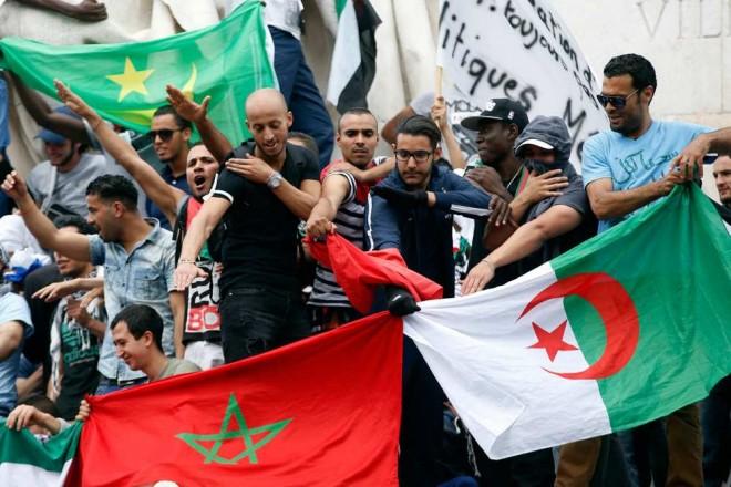 Manif pro-Hamas interdite 23-07-14 Quenelles