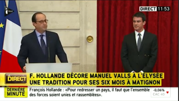 Hollande-Valls : grosse rigolade !