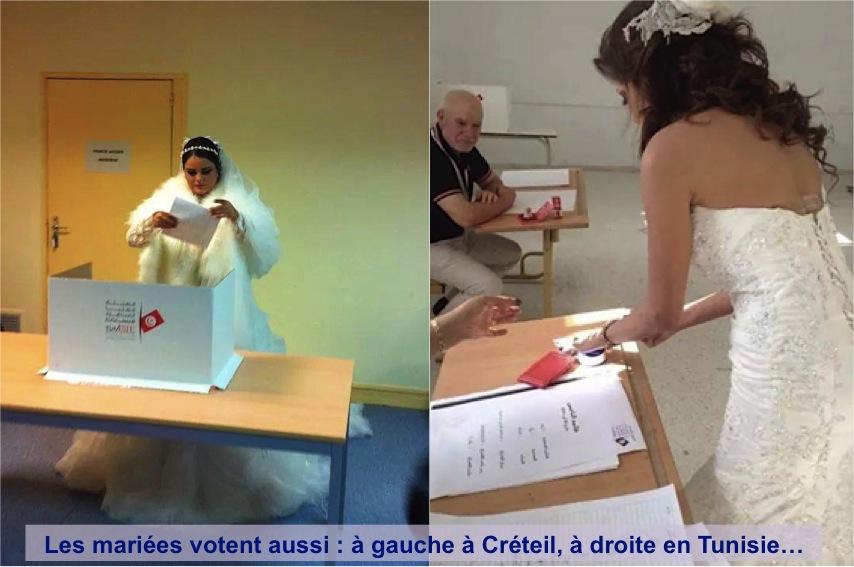 mariees-votant-tunisie-creteil