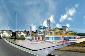 Le projet de construction d'une mosquée géante, visible de Genève, sur les terres du dernier maraîcher d'Annemasse, a été stoppé par les juges de Lyon le 15 octobre 2014