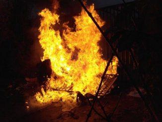 Incendie de poubelle JC Nanterre 2