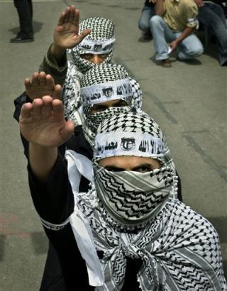Le Hamas, symbole de la paix impossible