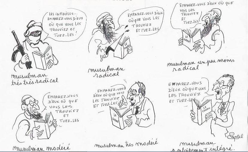 Banalisation du terrorisme - Page 13 Pinatelmusulmantuezles