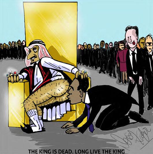 Le récent décès du roi Abdallah a donné lieu à des cérémonies pas toujours ragoûtantes