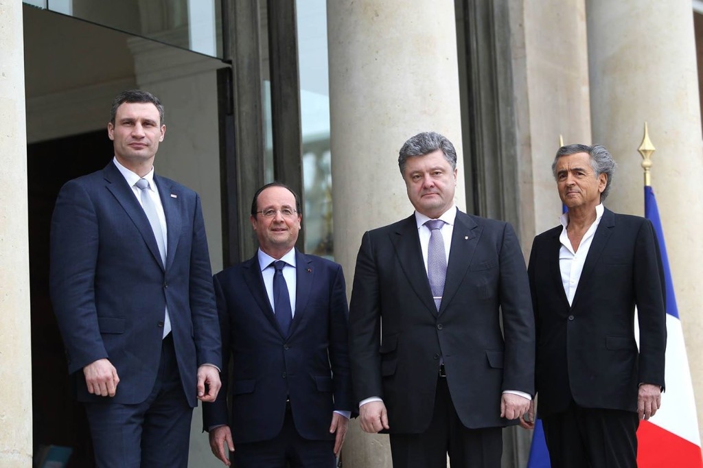 Elysee-Porochenko-Hollande-Levy