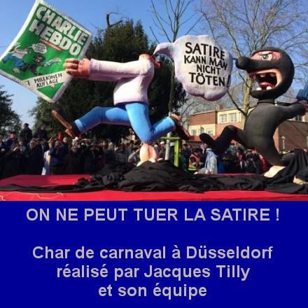 on ne peut tuer la satire - Jacques Tilly