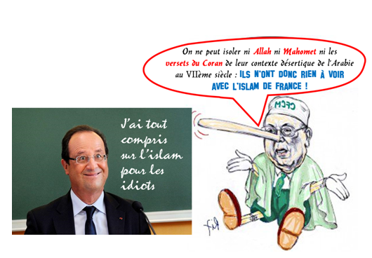 HollandeBoubakeurdessin