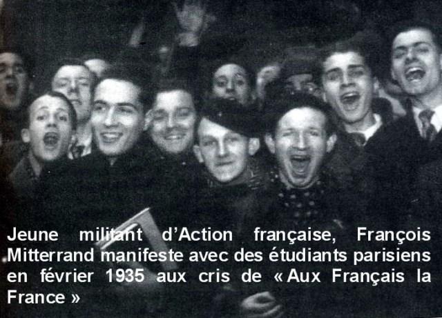Mitterrand d'Action Française