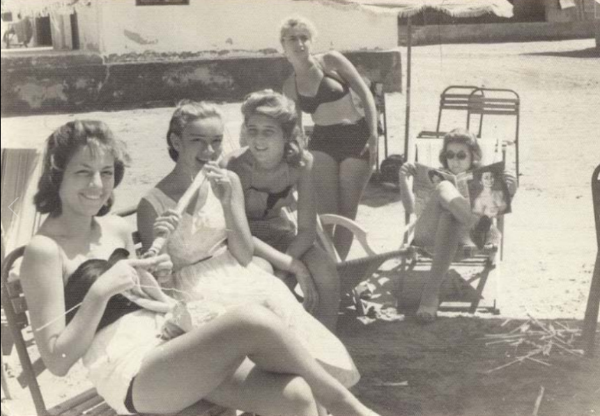 Egypte-plage-annees-50