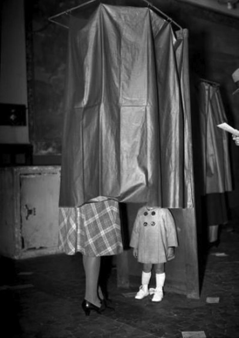 A Paris, lors des élections nationales du 21 octobre 1945