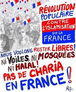 PAS DE CHARIA EN FRANCE