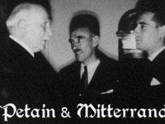 Pétain et Mitterrand