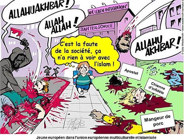 la libre belgique poursuit sa croisade en faveur de l islam riposte la que. Black Bedroom Furniture Sets. Home Design Ideas