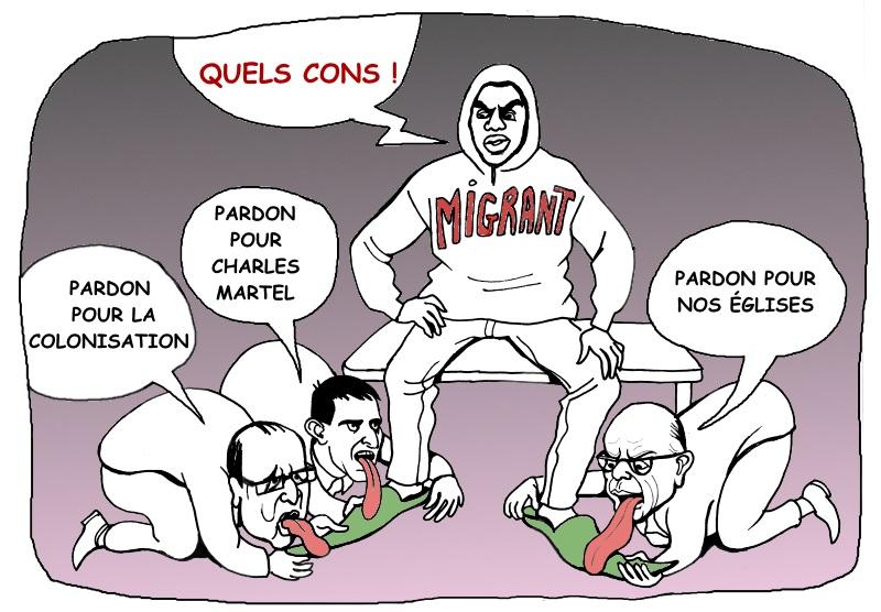 Hollande-valls-cazeneuveleche
