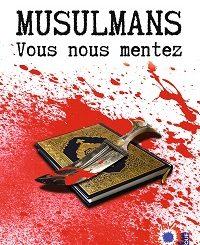 musulmans vous nous mentez