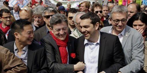 MElenchon-Tsipras-Laurent