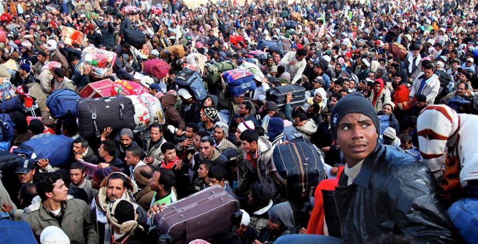 Résultats de recherche d'images pour «colonne migrants»