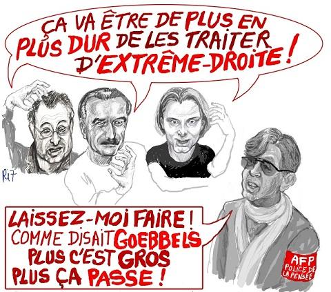 Après Rambouillet et Avignon, l'AFP fait le coup de l'attentat néo-nazi…