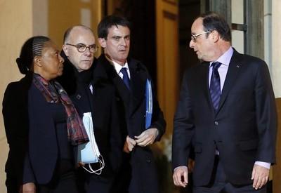 Taubira-Cazeneuve-Valls-et-Hollande