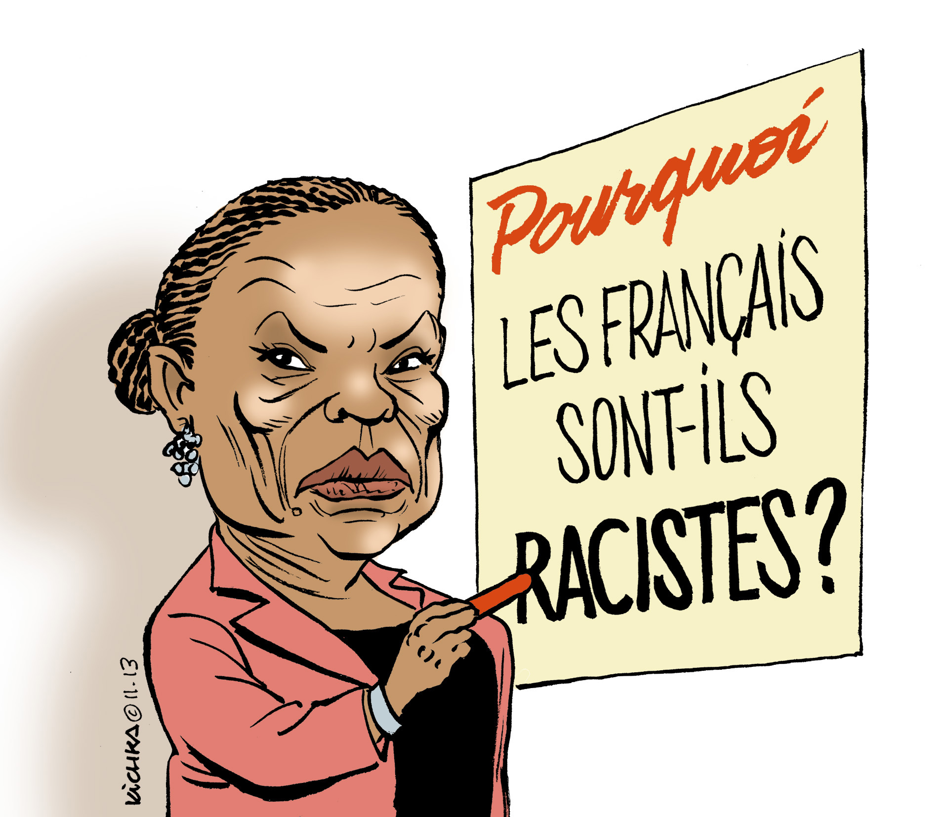 Le racisme anti-blancs en images…