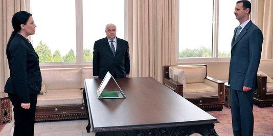 av chakkour ambassadrice Syrie