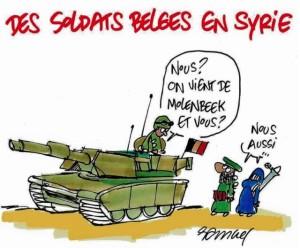 Belges en Syrie