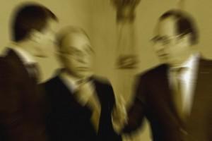 Hollande Valls Cazeneuve Flou