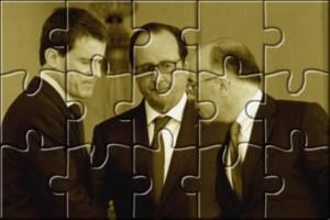 Hollande Valls Cazeneuve Puzzle