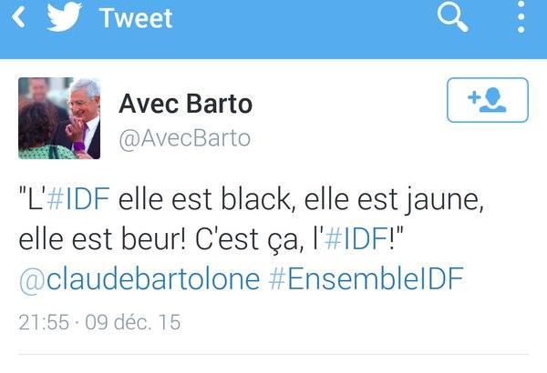 Barto IDF black beur jaune