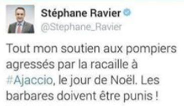 corse -tweet-ravier