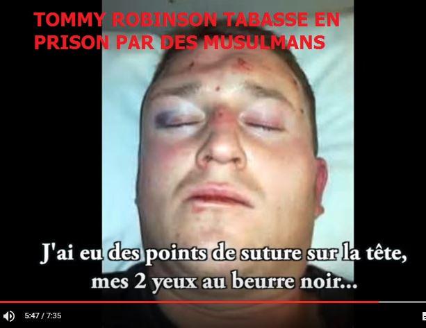 Tommy Robinson Agress U00e9 La Nuit Derni U00e8re Dans Sa Ville