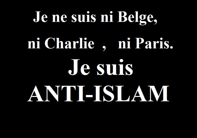 Je suis anti islam
