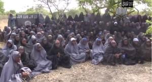 Boko Haram jeunes filles enlevées et voilées de force