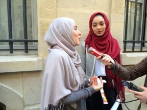 Journée du hijab Sciences Po 3