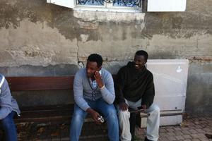 Deux Erythréens à Varennes