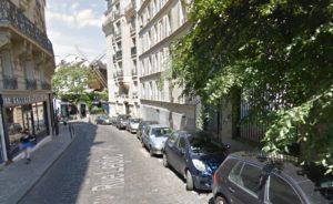 Ian Brossat rue Lepic