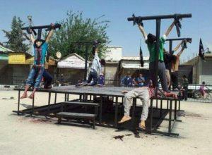Cruxification des chrétiens en Irak