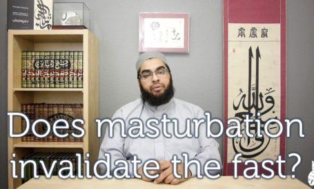 Does Masturbation break the Fast.
