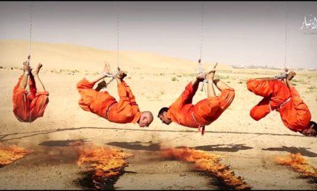 barbeque Etat islamique