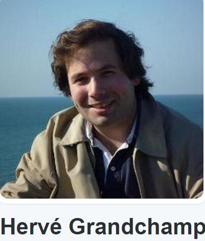 Le jounaliste de TV Libertés Hervé Grandchamp