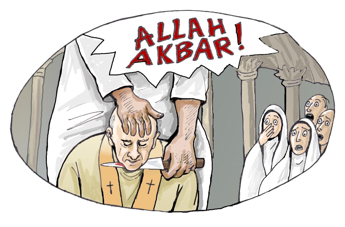 Décapitation-islam : amalgame obligatoire