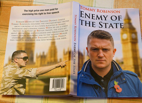 Tommy Robinson : Goodbye, Twitter !