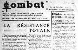 Edition du journal Combat (1943)