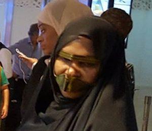 Esclave dans un aéroport