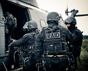 Une unité du RAID