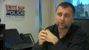 Nicolas Comte sécrétaire général d'Unité SGP FO