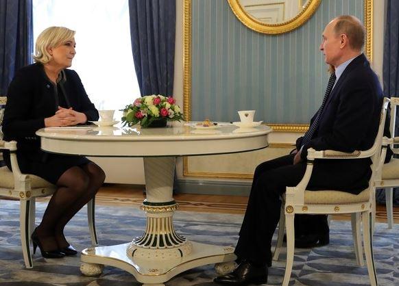 Comment pouvez-vous rêver de Poutine, et rejeter Marine ?