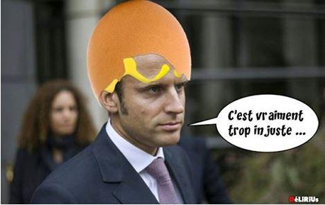 Alexandre Benalla Macron-calimero