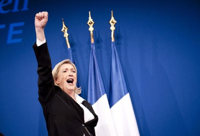 Image result for marine le pen victoire