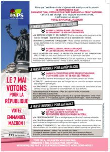Piratons les tracts anti-Marine des socialauds